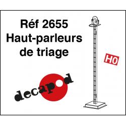 Haut-parleurs de triage (4 pcs) HO Decapod 2655 - Maketis