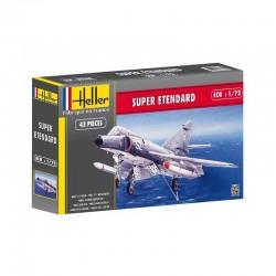 Avion de chasse AMD SUPER ETENDARD 1/72 Heller 80360