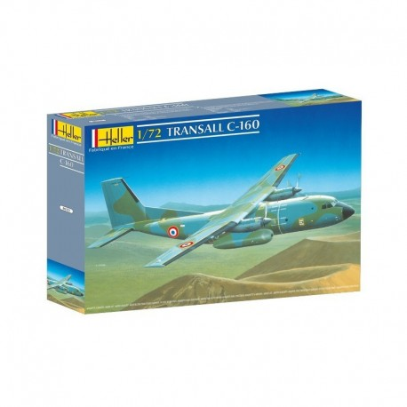 Avion militaire TRANSALL C-160 1/72 Heller 80353