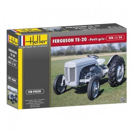 "Tracteur FERGUSON TE-20 ""PETIT GRIS"" 1/24 Heller 81401"