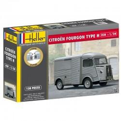 Utilitaire CITROËN FOURGON HY 1/24 Heller 80768
