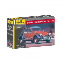 Voiture CITROËN 2 CV CHARLESTON 1/24 Heller 80766