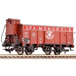 Wagon couvert frigorifique SPA SNCB Ep III HO Fleischmann 535808