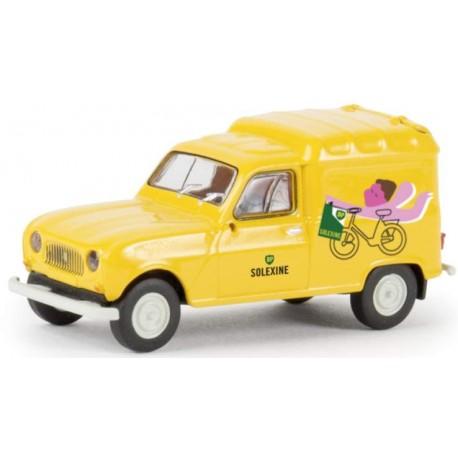 """Renault R4 Fourgonette """"Bardahl"""" (Brekina 14742)"""