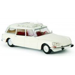 Citroën ID 21 break, blanche Brekina 14213