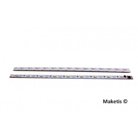 Kit complet éclairage intérieur ruban LED Blanc Chaud