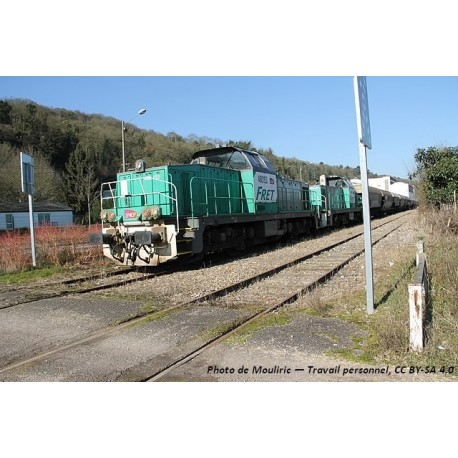 Locomotive Diesel BB60000 FRET SNCF EP VI Digital Son HO Piko 96471