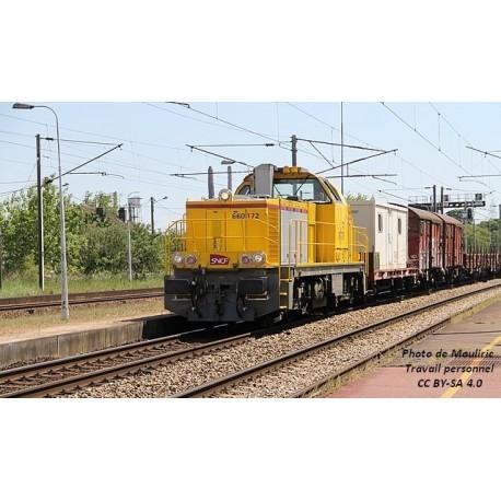 Locomotive Diesel BB60000 INFRA SNCF EP VI Analogique HO Piko 96473