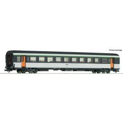 Voiture 2ème classe VTU Corail SNCF Ep IV HO Roco 74533