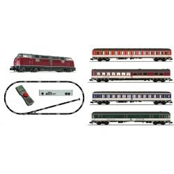 Coffret Digital Z21 Fleischmann N Loco Diesel 221 + 4 voitures DB 931881