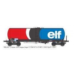 """Wagon citerne ANF longue Ep.IV """"ELF"""" HO REE WB-493"""