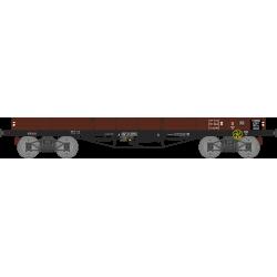 Wagon plat TP à 5 ridelles Ep.II ETAT NTyw 136318 HO REE WB-497