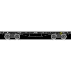 "Wagon plat TP 4 roues à rayons Ep.III b SNCF ""MT"" SQy HO REE WB-502"