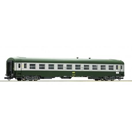 Voiture UIC-Y 2ème classe B10 SNCF Ep IV HO Roco 74352