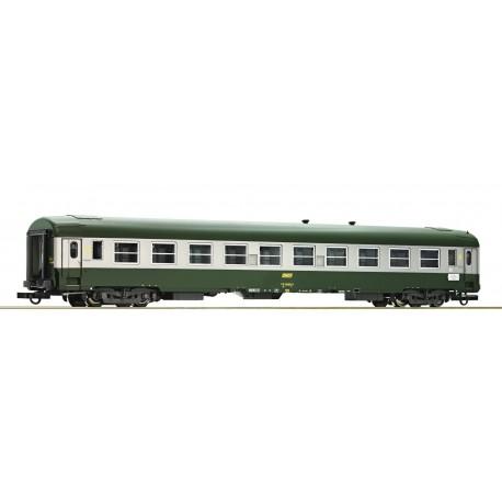 Voiture UIC-Y 2ème classe B10 SNCF Ep IV HO Roco 74353