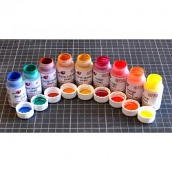 Acrylique à l'eau Decapod - Teintes pures