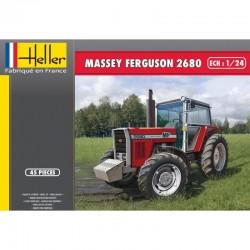 Tracteur MASSEY FERGUSON 2680 1/24 Heller 81402