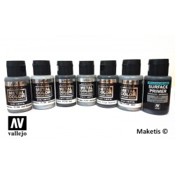 METAL COLOR Acrylique Vallejo 32ml