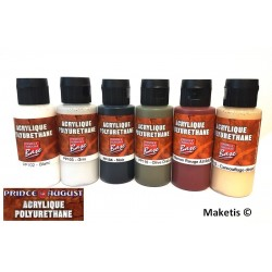 Base acrylique polyuréthane Prince August 60ml - Maketis