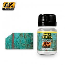 Effets usés écaillage acrylique AK Interactive 35 ml AK088