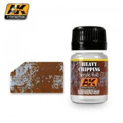 Fluide gros écaillage acrylique AK Interactive 35 ml AK089