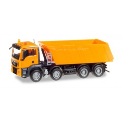 Camion benne Man TGS 4 essieux HO, Herpa 307727