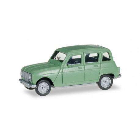 Renault R4 vert pastel, HO, Herpa 020190-005