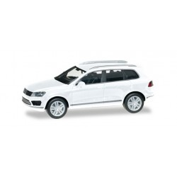 VW Touareg, blanc, HO, Herpa 028479-002
