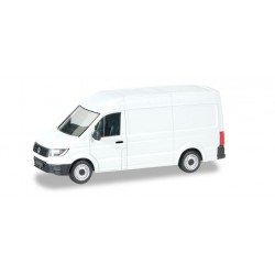 VW Crafter, toit haut, blanc, HO, Herpa 92982