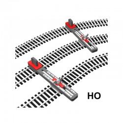 Gabarits réglables pour pose parallèle des voies HO Proses PT-H0-01