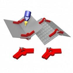 "Pinces magnétiques multi-angles ""Snap & Glue"" (2 paires) Proses PR-SS-04"