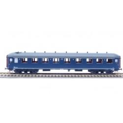 Voiture NS B7152 bleu Berlin, toit gris (Exclusivité Italie) HO Exact-Train. Epoque IIIb