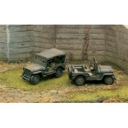 Véhicule militaire Jeep Willis 4x4 1/72 ITALERI 7506