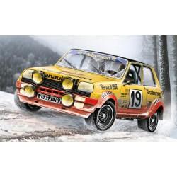 Voiture Renault 5 Alpine Rallye 1/24 ITALERI 3652