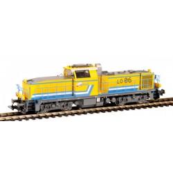 Locomotive Diesel BB60000 E-Genie EP VI Analogique HO Piko 96475