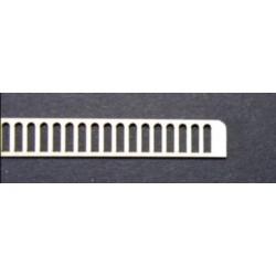Garde corps béton pour pont - Echelle N CMED-054-1-N