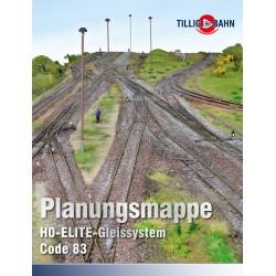 Plans et patrons de voie Tillig elite code 83 09620