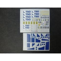 Marquages avec logos TSO divers en HO