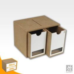 Module 20 cm 2 tiroirs HobbyZone OMS01B