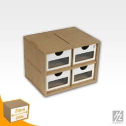 Module 20 cm 4 tiroirs HobbyZone OMS01A