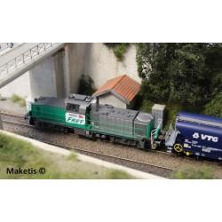 Locomotive Diesel BB60000 FRET SNCF EP VI Analogique HO Piko 96470