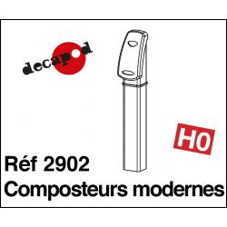 Moderne Kompostierer (2 St) H0 Decapod 2902 - Maketis