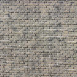 Feuilles décor Mur en pierres de taille style M1 HO Metcalfe M0057