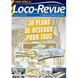 30 plans de réseaux pour tous Loco Revue HSLR61 - Maketis