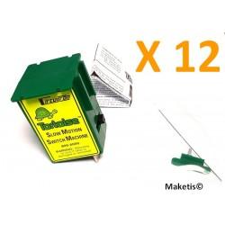 Moteur lent sous-table Circuitron Tortoise 800-6006 (12 pièces) - Maketis