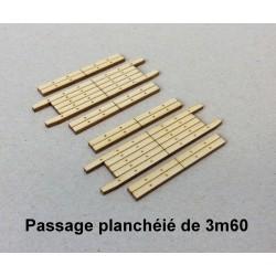 Plancher de PN droit de 3m60 [HO]
