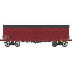 Wagon couvert TP 2 portes EP IIIa SNCF lyw 417826 HO REE WB-523