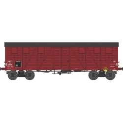 Wagon couvert TP 2 portes EP IIIb SNCF lyw 416919 HO REE WB-524
