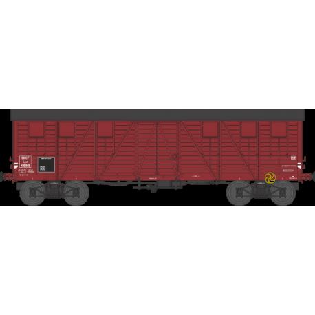 Wagon couvert TP 2 portes EP IIIb SNCF lyw 416919 HO REE WB-524 - Maketis