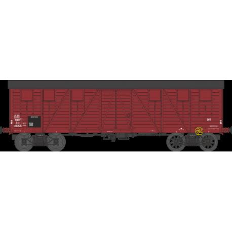 Wagon couvert TP 2 portes EP IIIb SNCF lyw 418305 HO REE WB-525 - Maketis